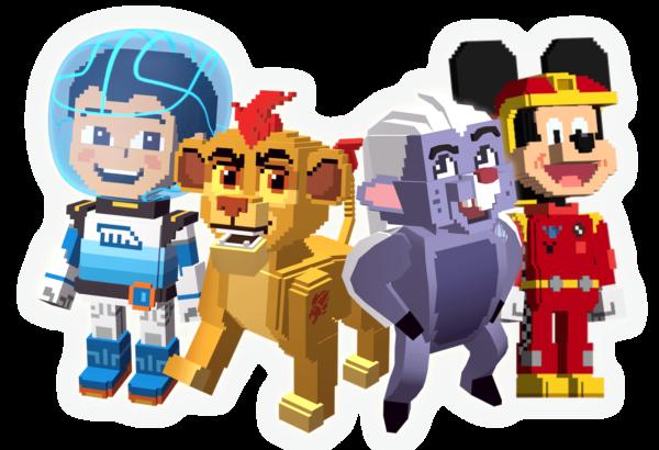Super Summer Arcade Characters