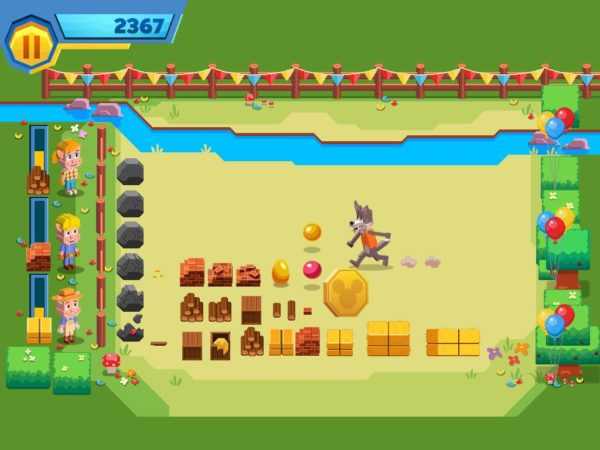 Goldie Bear Mini Game