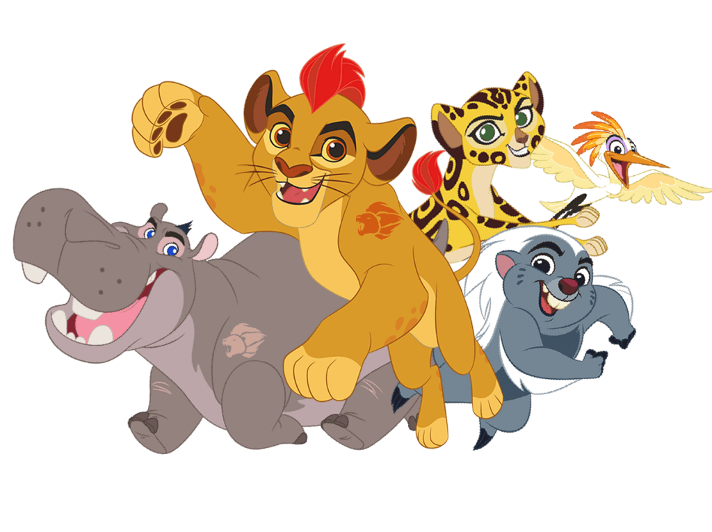 Lion Guard Protectors of the Pridelands Characters