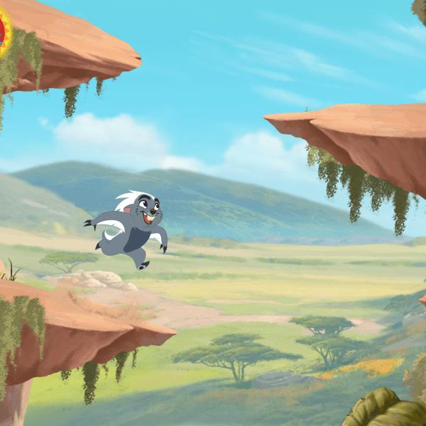 Lion Guard Bunga Gameplay