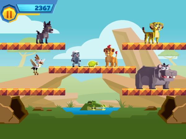 Lion Guard Mini Game