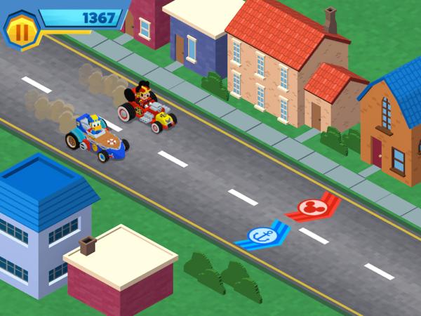 Mickey Roadsters Mini Game