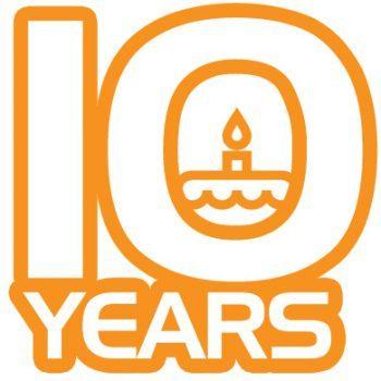 10 Years!