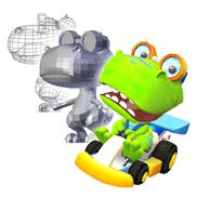 3D art design for video games