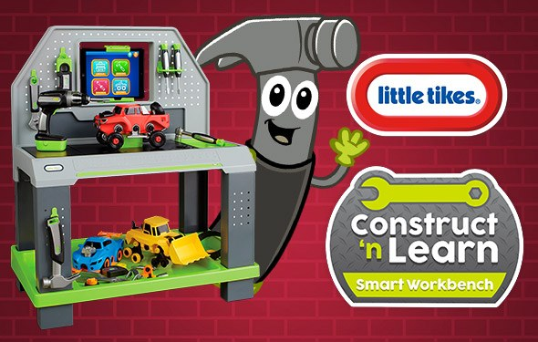 Surprising Little Tikes Construct N Learn Smart Workbench Game Ocoug Best Dining Table And Chair Ideas Images Ocougorg