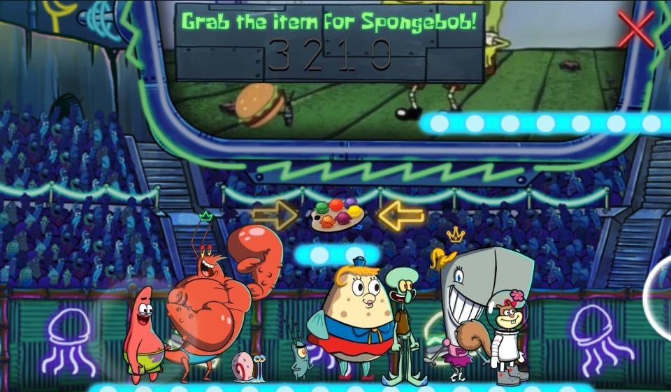 SpongeBob io-style multiplayer game
